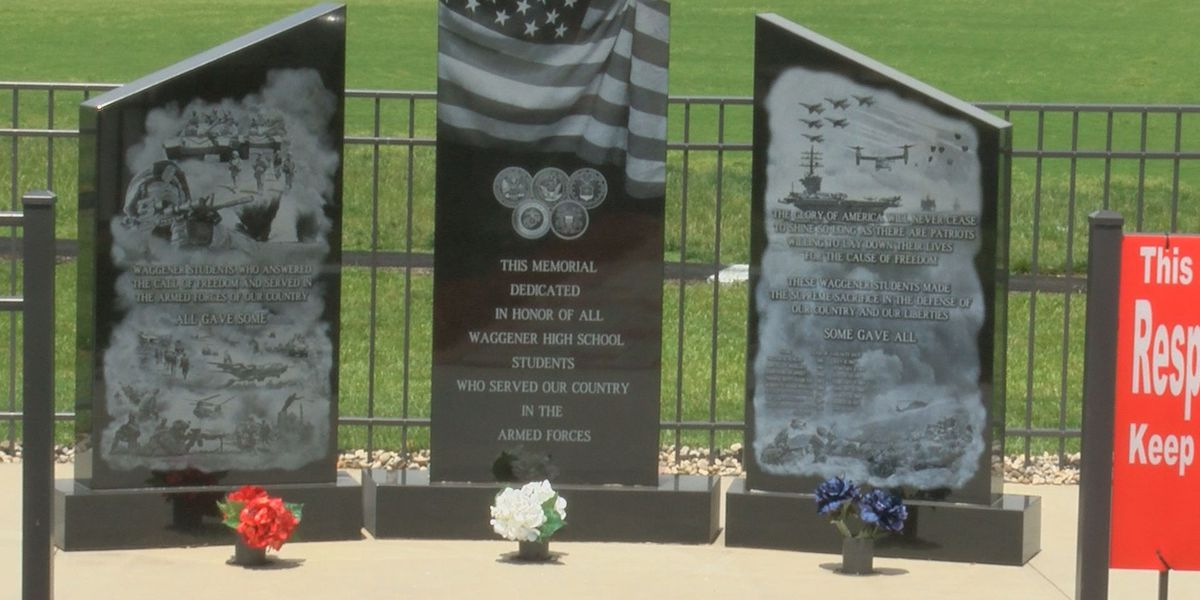 Waggener High School monument honors alumni veterans killed in action