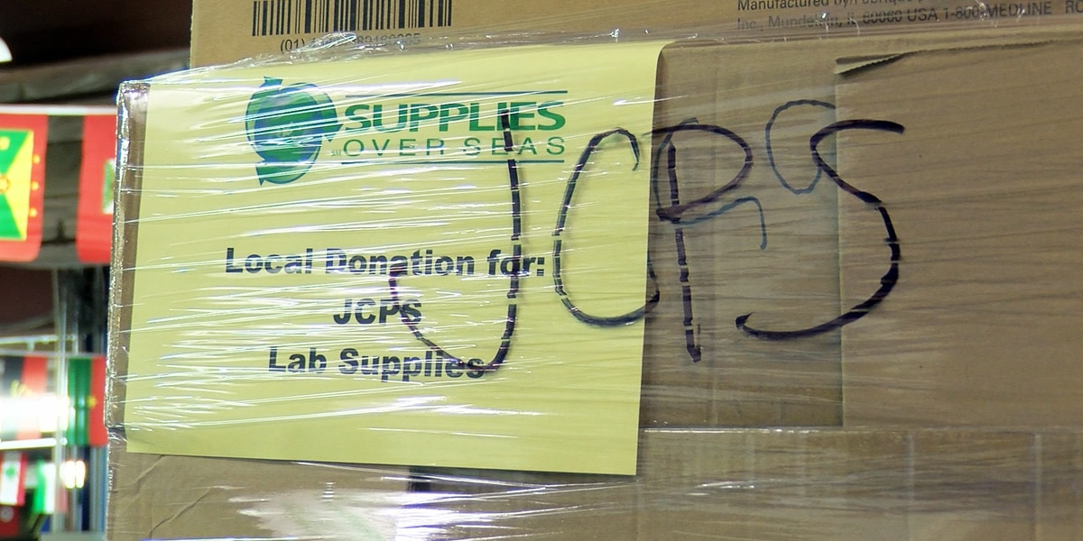 Supplies Over Seas donates $20,000 worth of medical supplies to JCPS