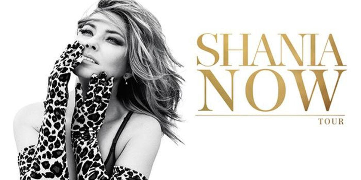 'Now' & Later: Shania Twain's tour to roll through Louisville next year
