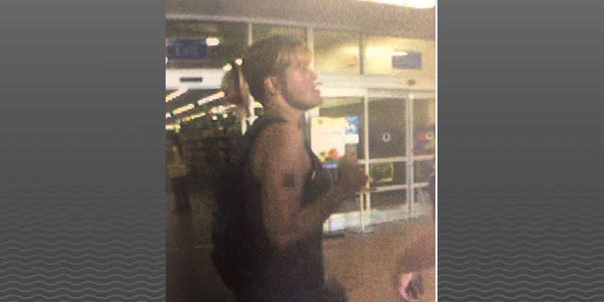 E'Town police searching for Walmart theft suspect