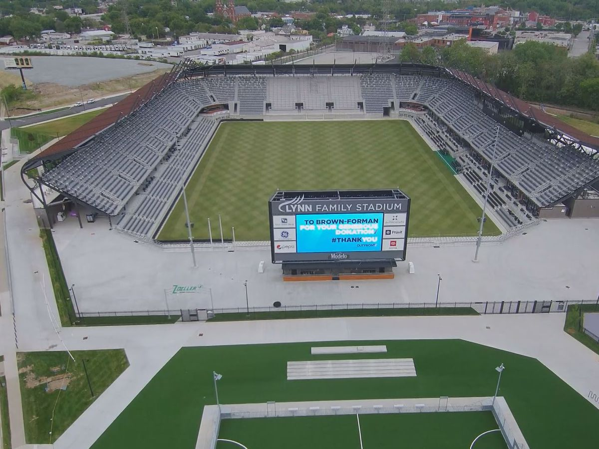 Louisville City FC to open Lynn Family Stadium on Sunday, July 12