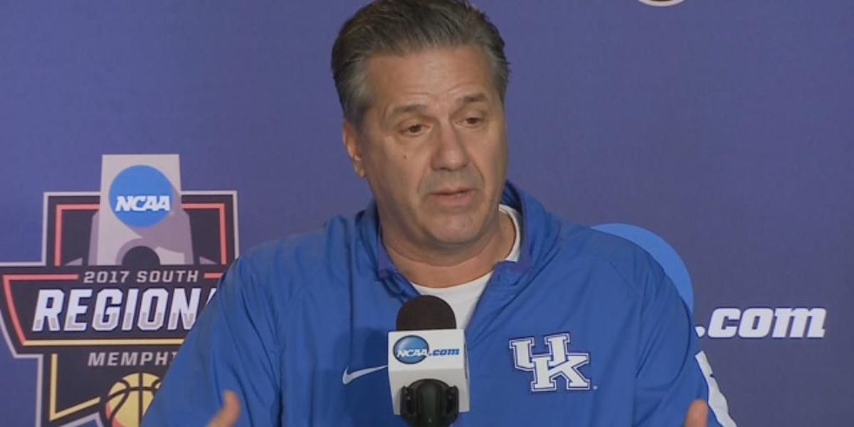 VIDEO: UK Coach Calipari, players preview Sweet 16 contest