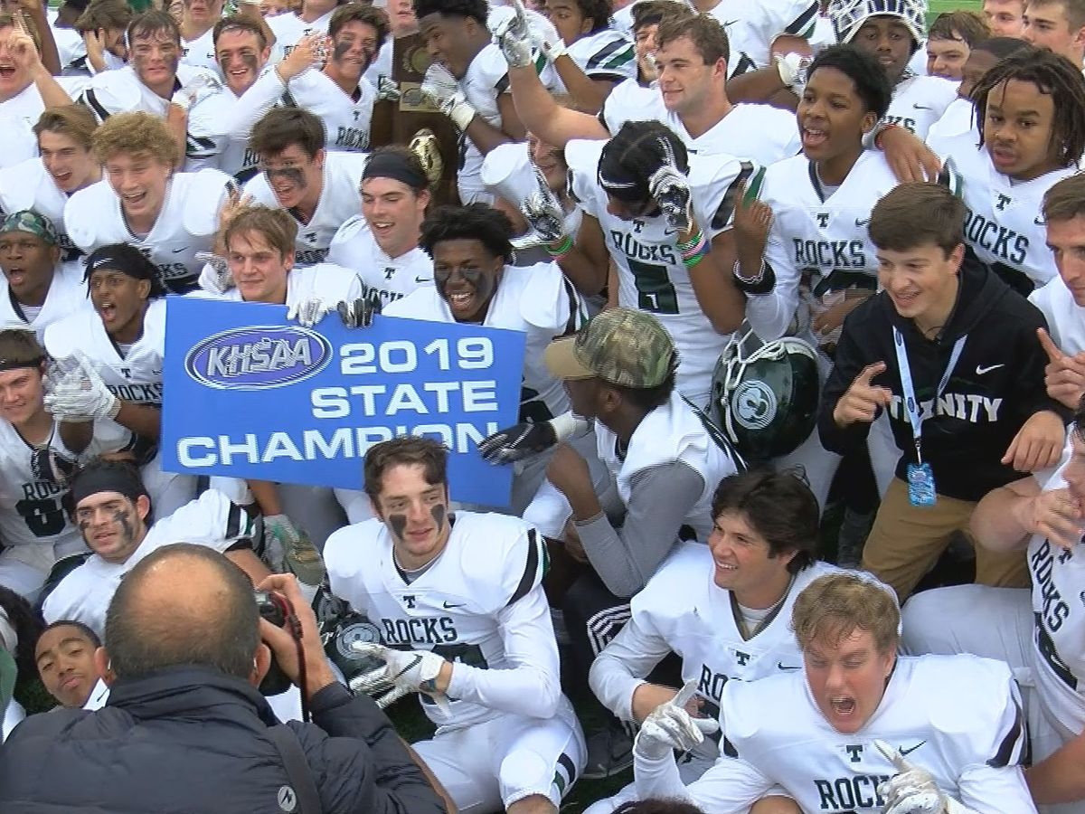 Trinity beats Male 28-6 to win 6A State Championship