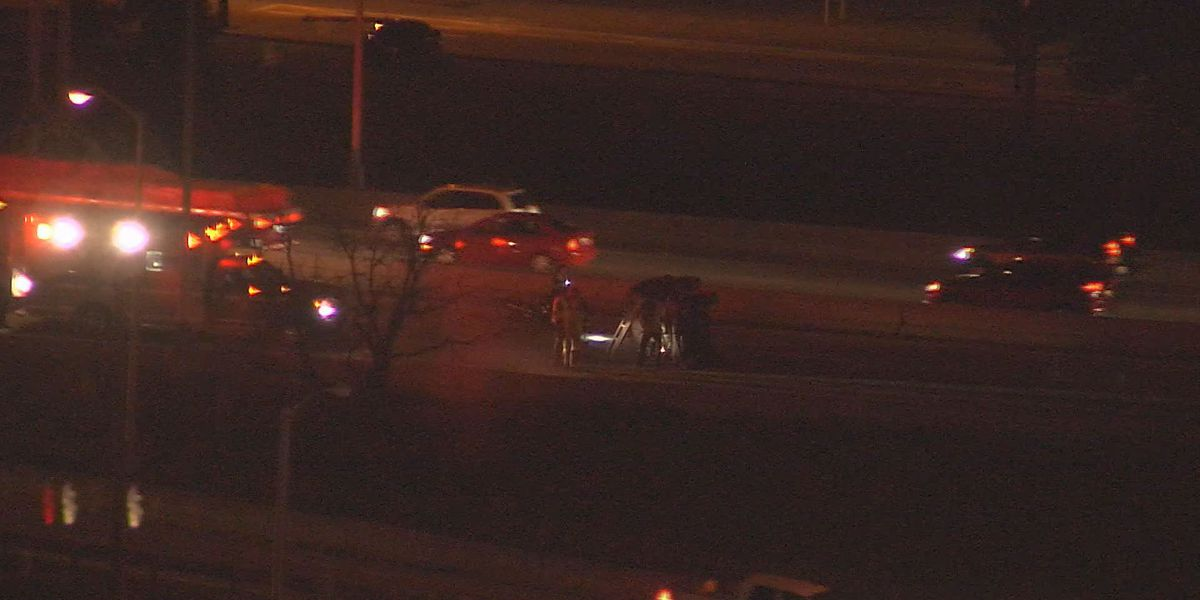 Motorcyclist killed in crash on I-65 in downtown Louisville