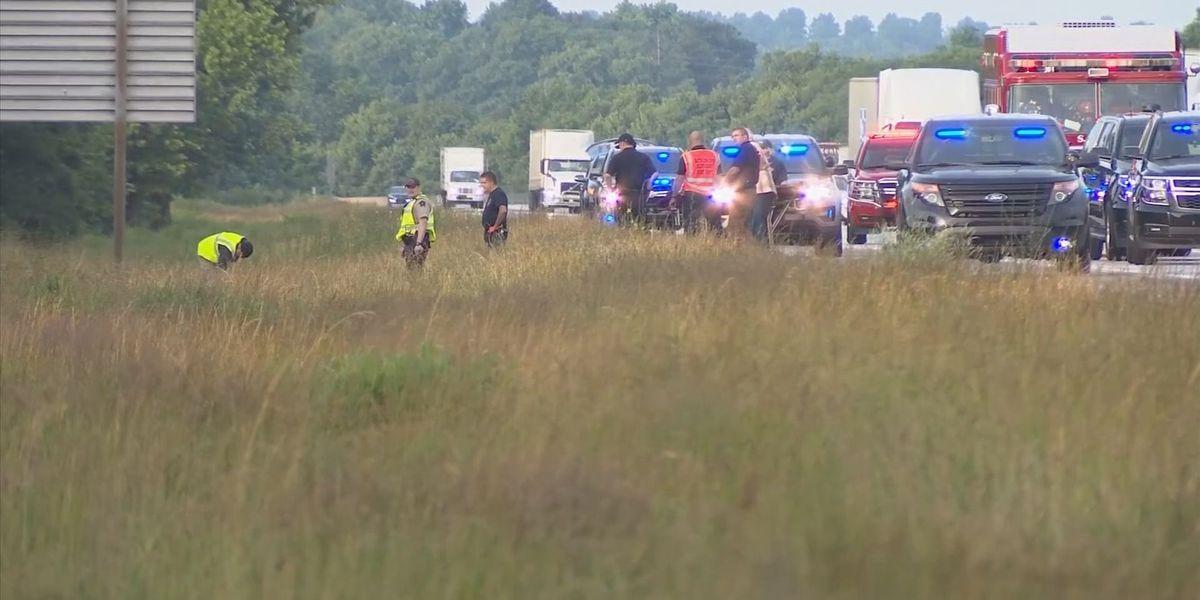 Pedestrian walking along I-75 struck and killed
