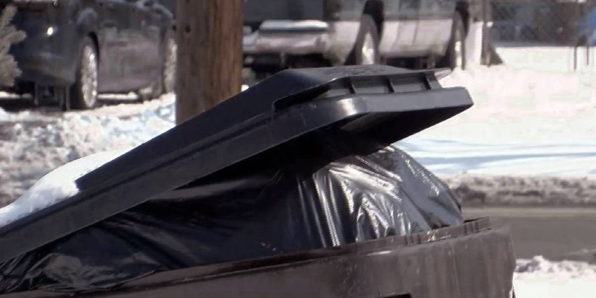 Winter weather delays area trash pick ups
