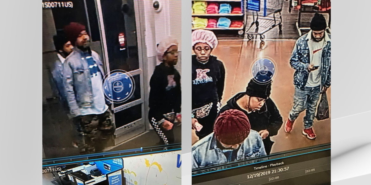 Police in Glasgow looking for suspects in Walmart shoplifting case