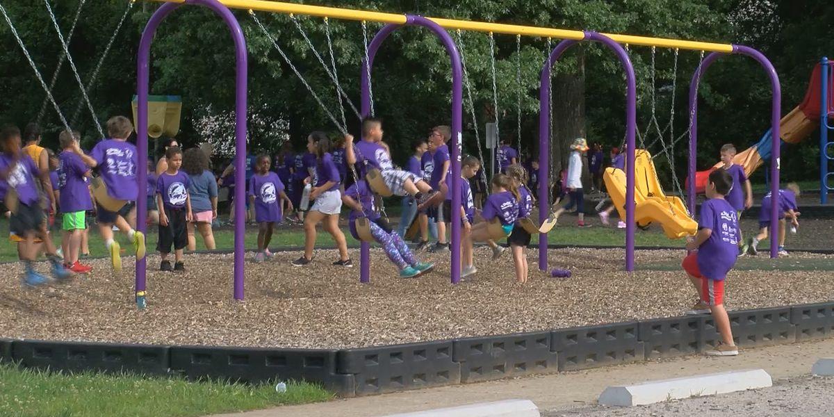 Louisville elementary school raising money to build new, inclusive playground