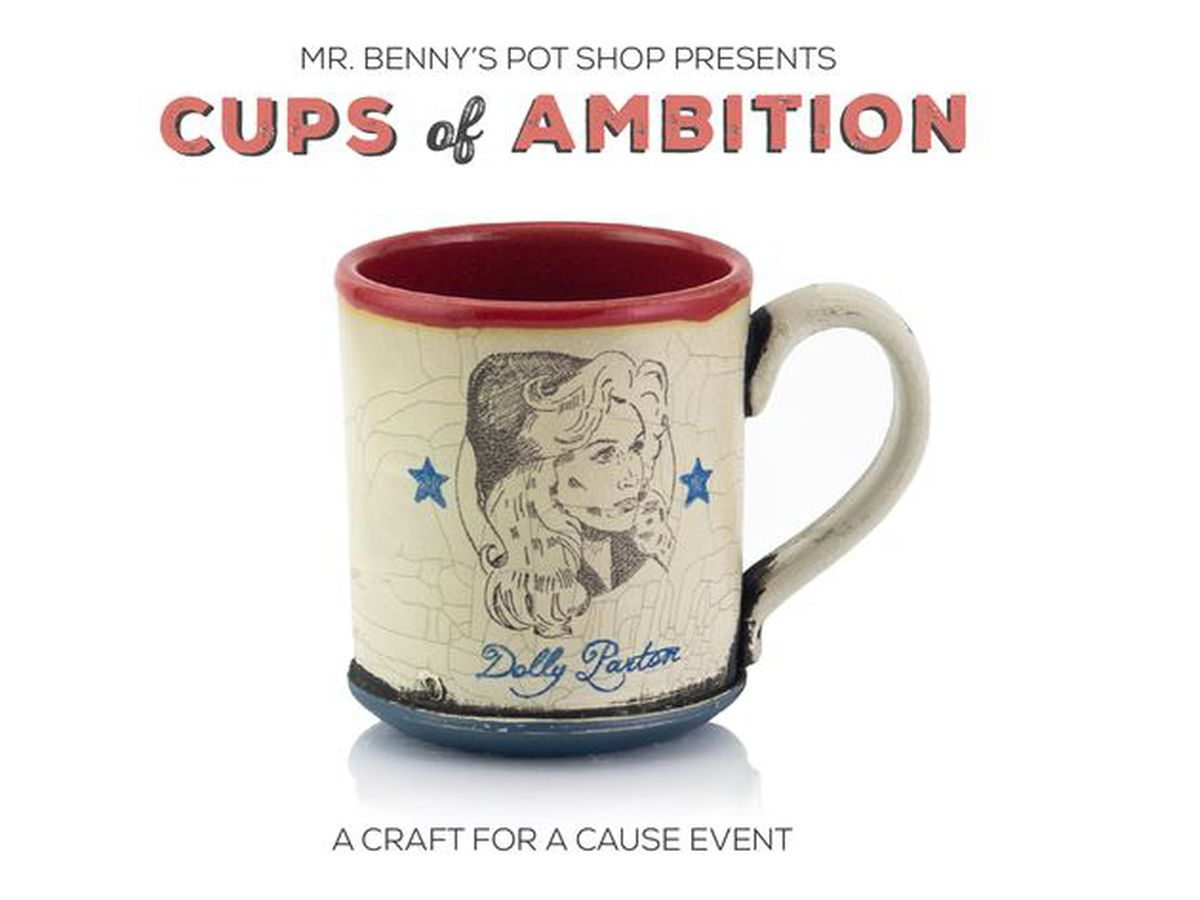 Cups of Ambition raises money for Dolly Parton's Imagination Library