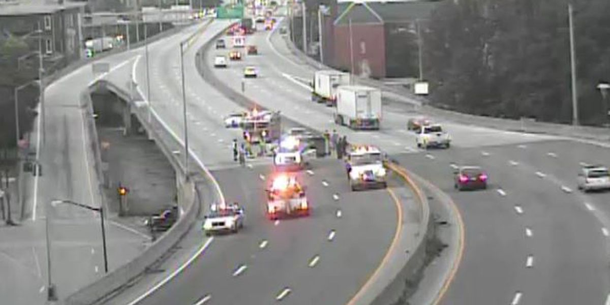 Lanes on I-65N near Brook Street exit reopen following crash