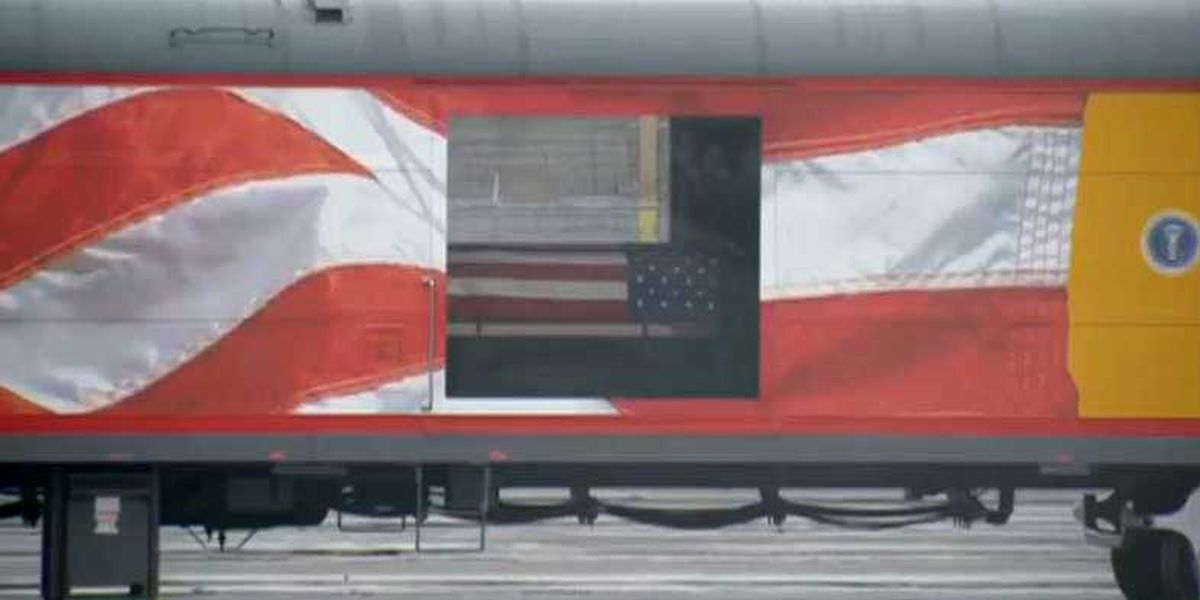 LIVE: Special train carries George H.W. Bush to his final resting place
