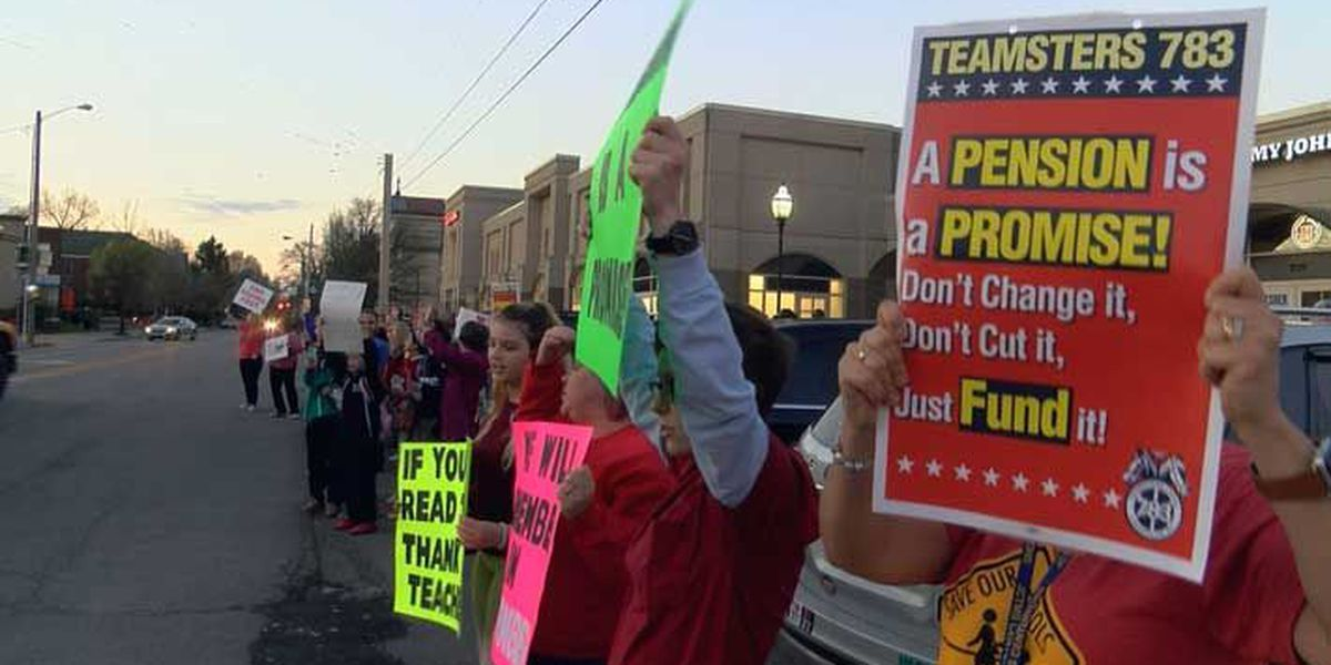 More protests show fight between educators, state legislature is far from over