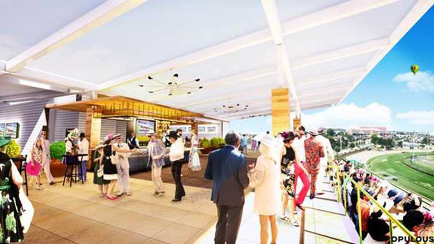 Churchill Downs To Build New Rooftop Seating Area