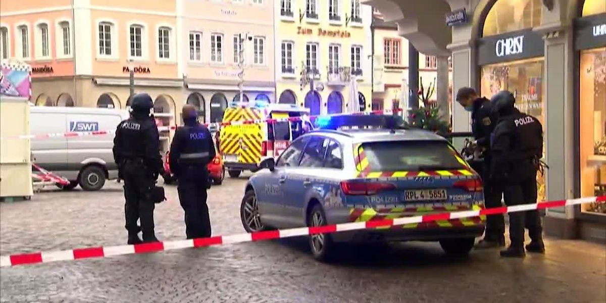 Driver arrested after crash kills at least 5 in Germany
