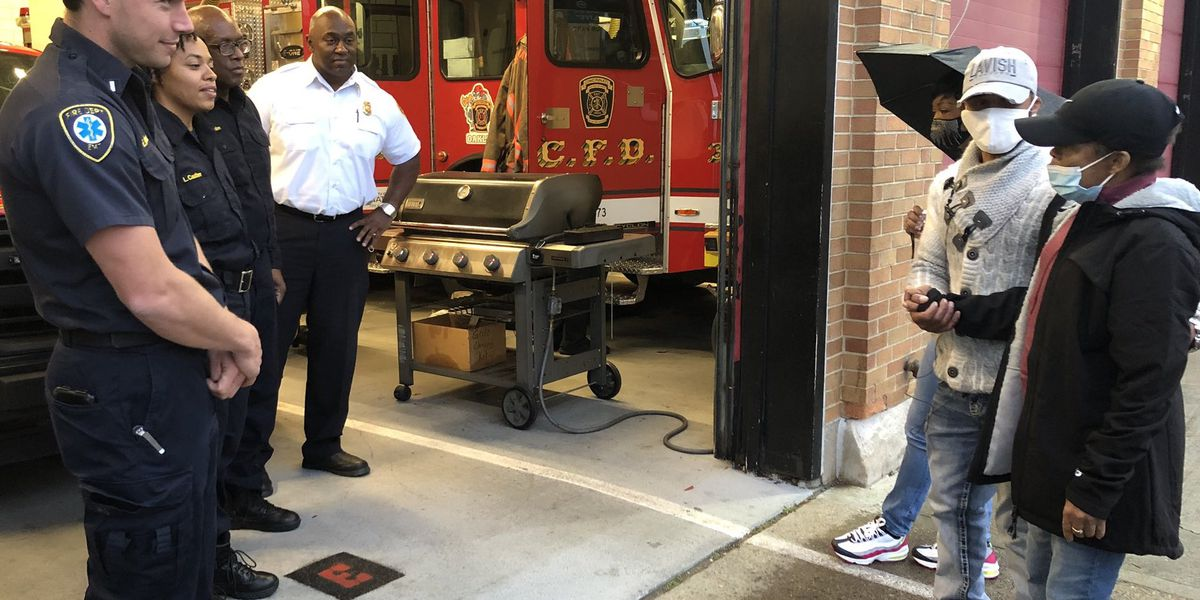 'God bless you:' Woman thanks Cincy firefighters for saving her life
