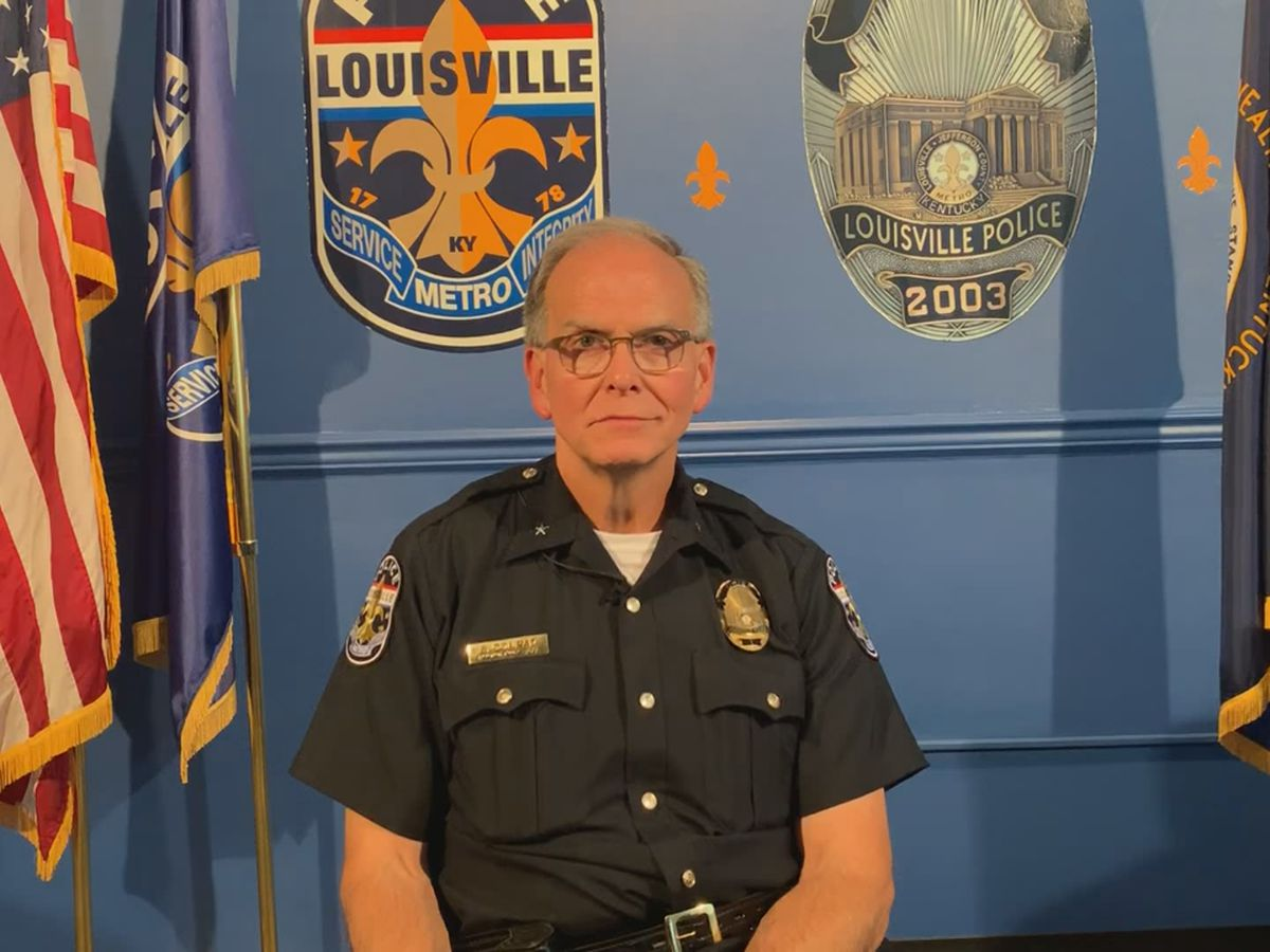 LMPD Chief comes under fire for saying low officer morale is not his problem, later takes to social media to apologize