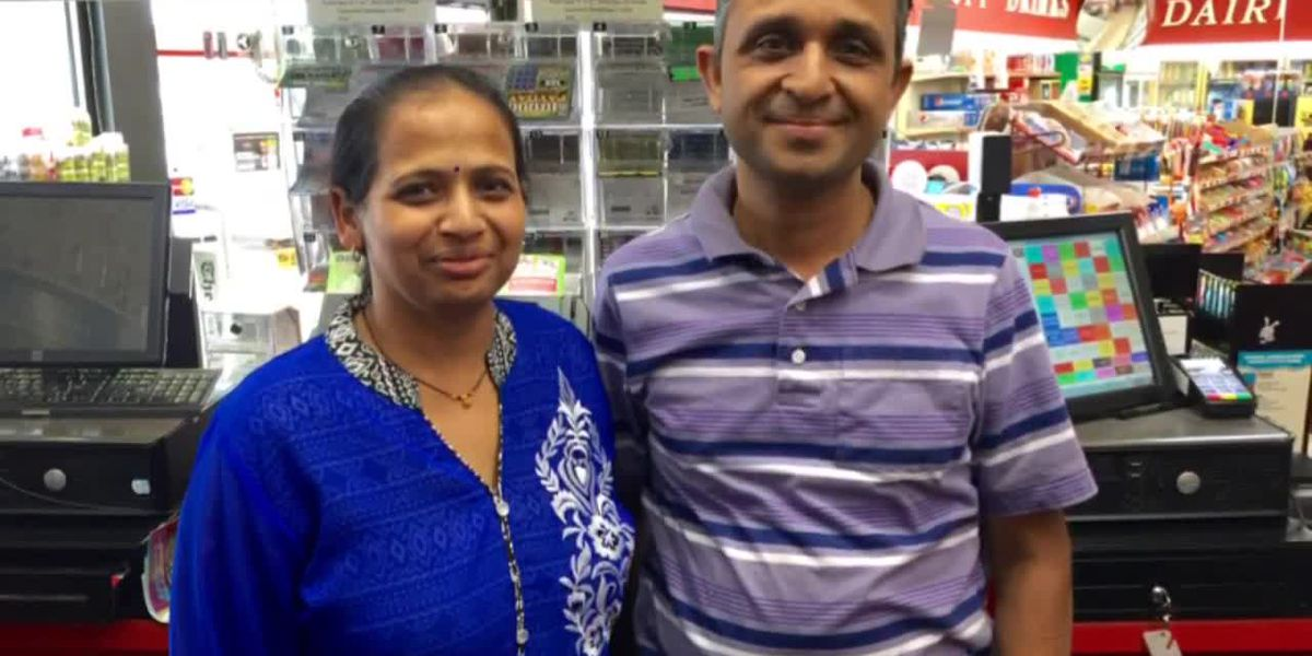 Heartbreaking interview with son of slain store owner