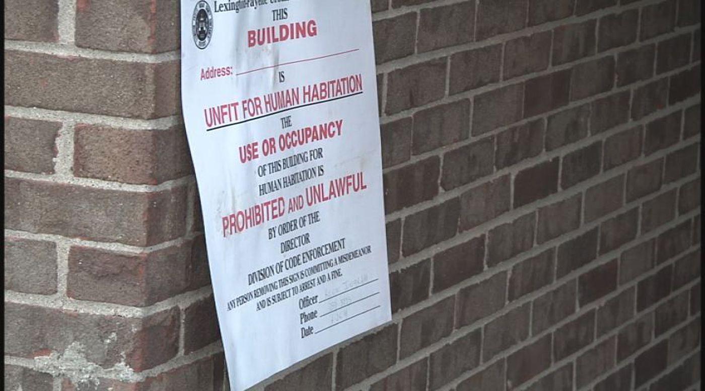 Apartments deemed 'unfit for human habitation,' 40 families