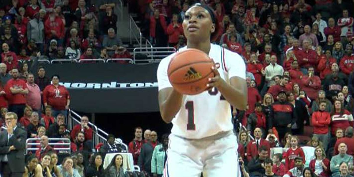 Evans hits seven triples as #5 UofL wins 81-70 at Boston College