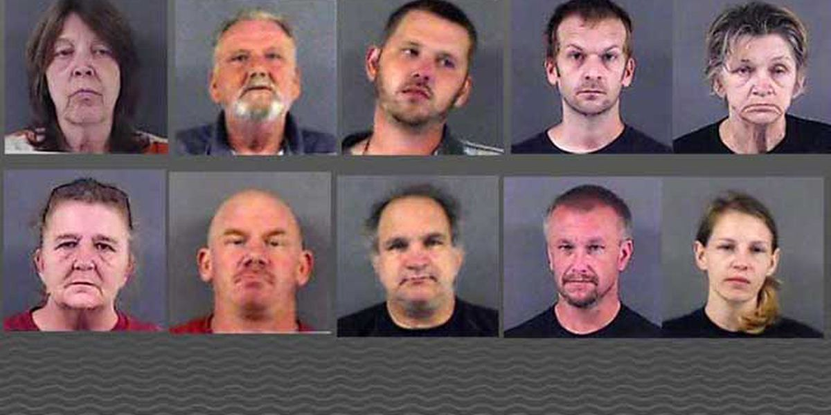 10 drug related arrests made in Washington Co., IN