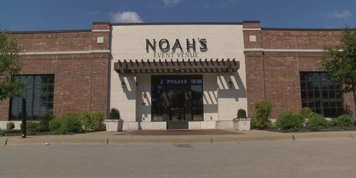 Local brides receive emails saying Noah's Event Venue will close in August