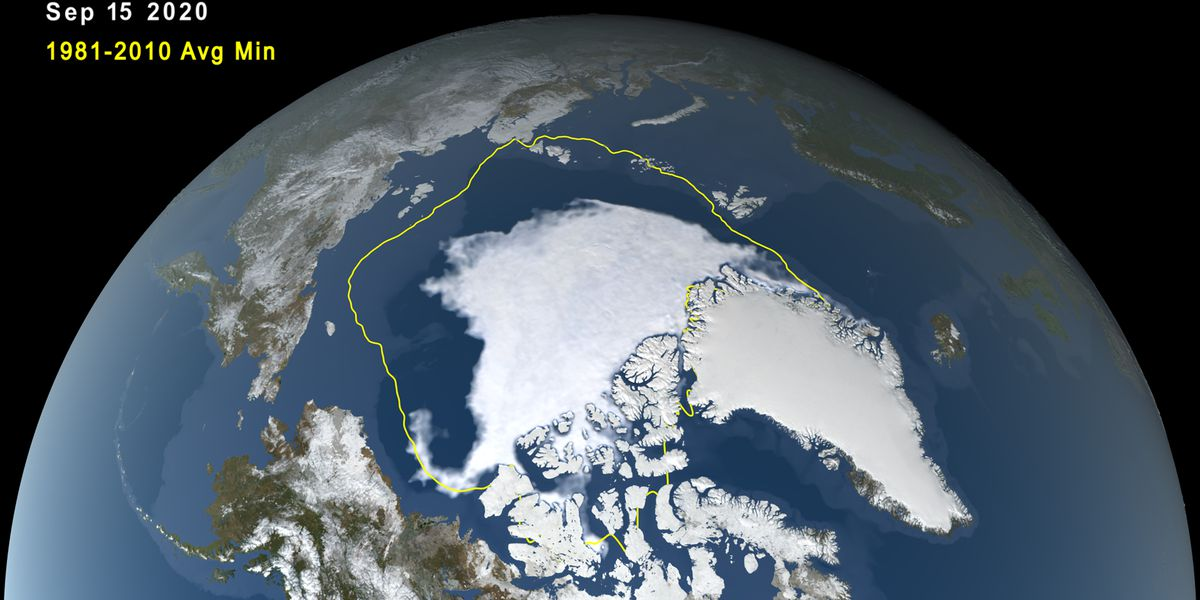 Behind the Forecast: 2020 Arctic Sea Ice near record low
