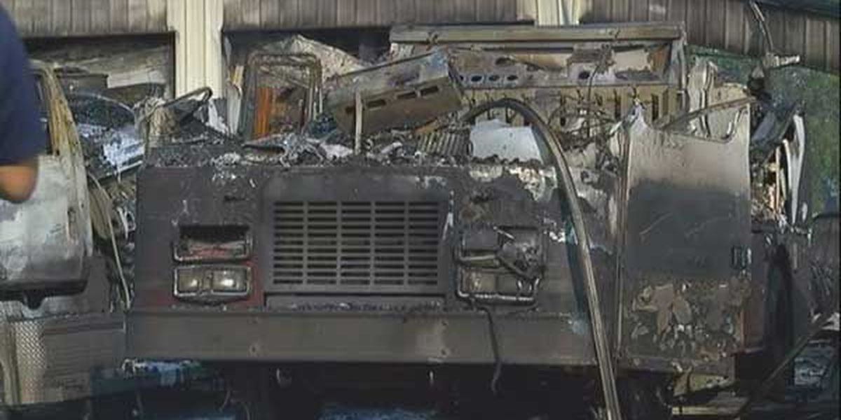 Investigation continues into fire that destroyed firehouse