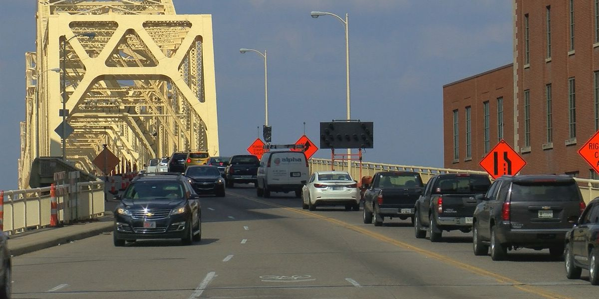 Drivers, rejoice! Bridge painting and work on Clark Memorial Bridge finally finished
