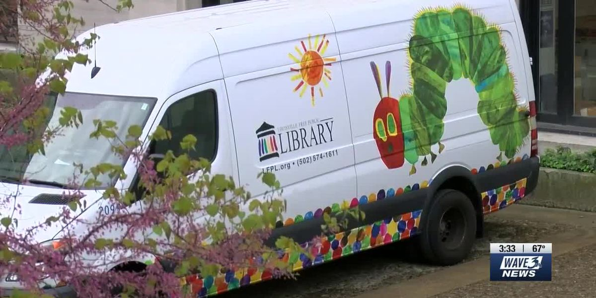 New Children's Bookmobile to roll into underserved parts of Louisville