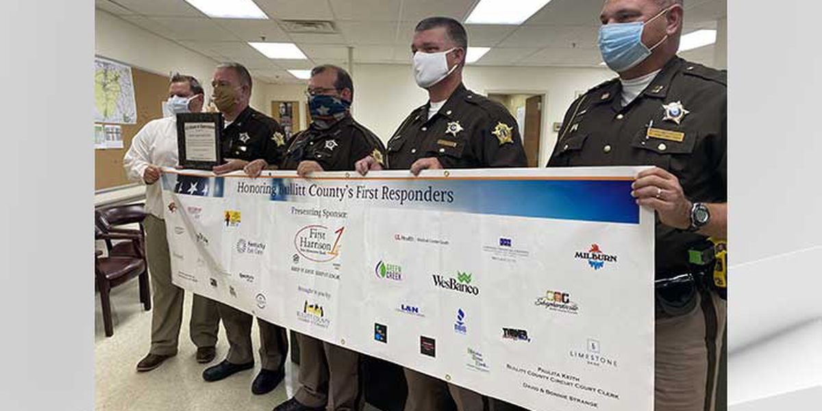 Hundreds of Bullitt County first responders receive free meals