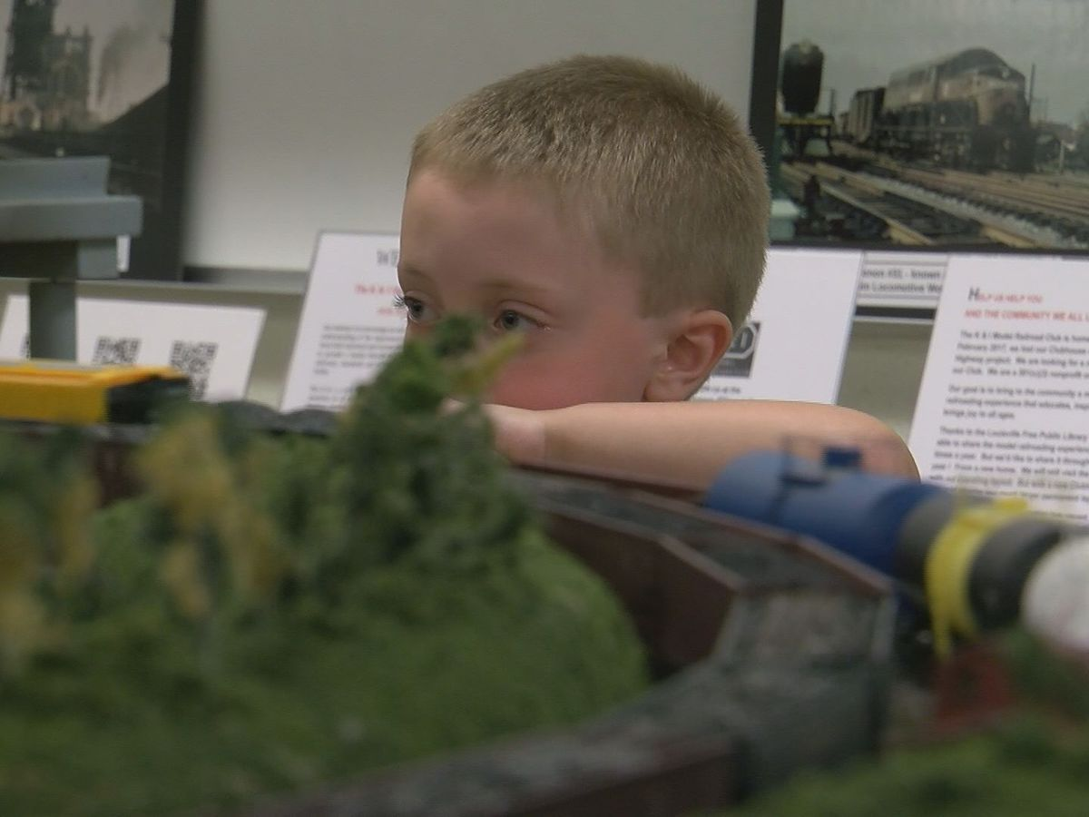 Bon Air Library offering free model train show
