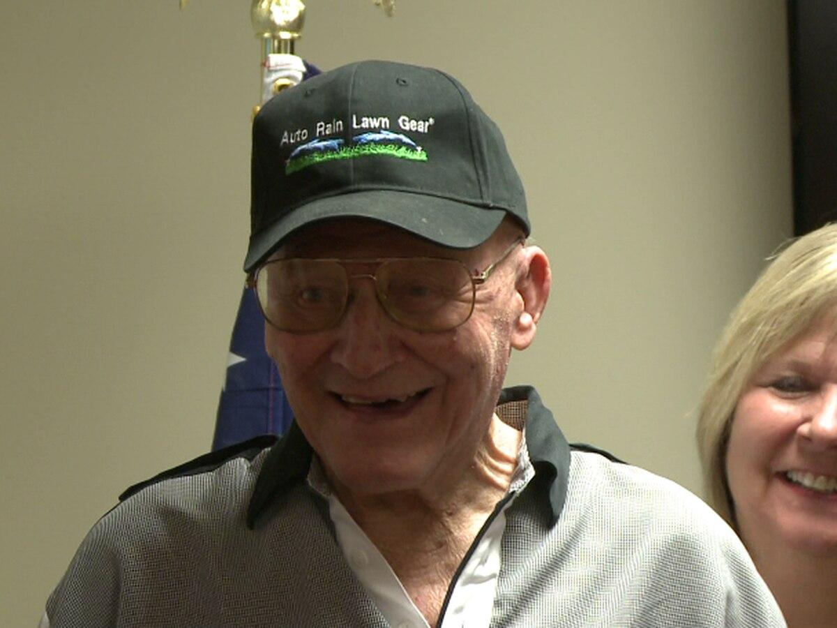 WWII veteran earns high school diploma