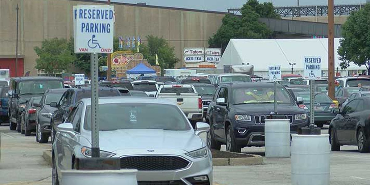Full parking lots, policy changes cause problems for some at Kentucky State Fair