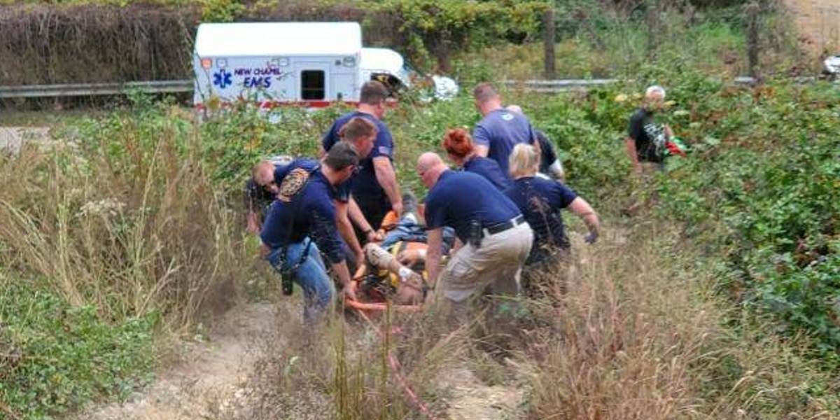 Firefighters assist in rescue of injured person in Floyds Knobs
