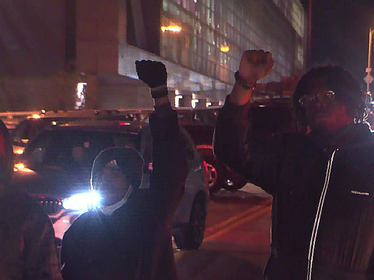 Shots fired in downtown Louisville as protesters condemn new LMPD chief