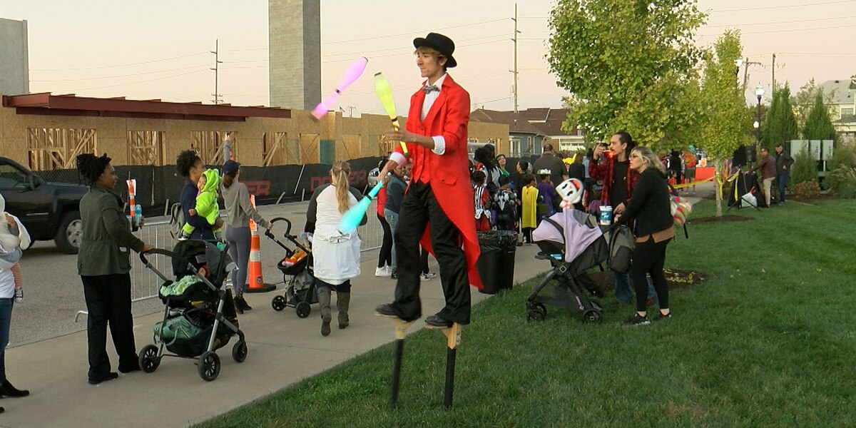 Big Four Station Park holds Halloween Downtown event