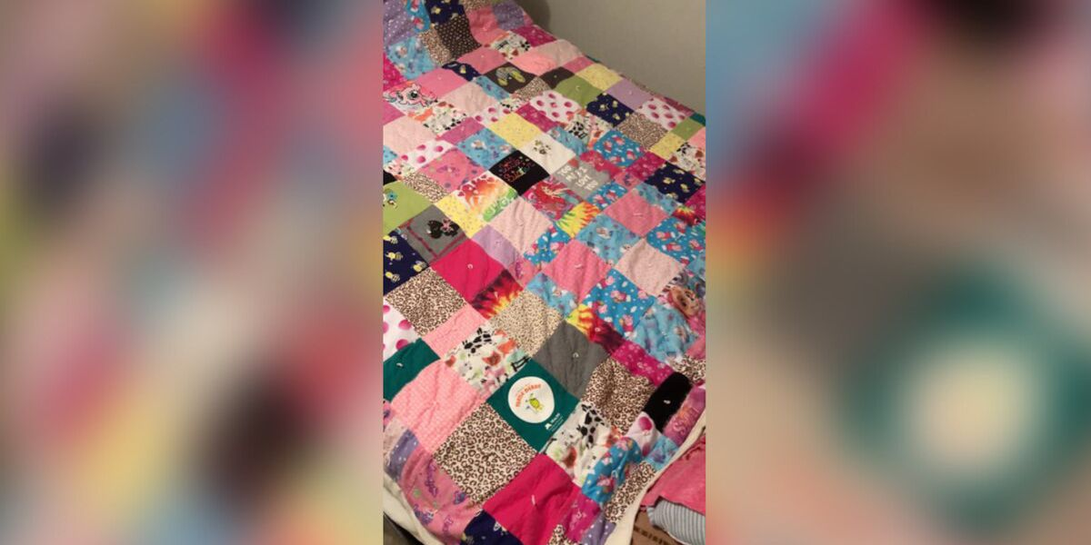 Fargo woman searching for stolen blanket made from the clothes of her late daughter