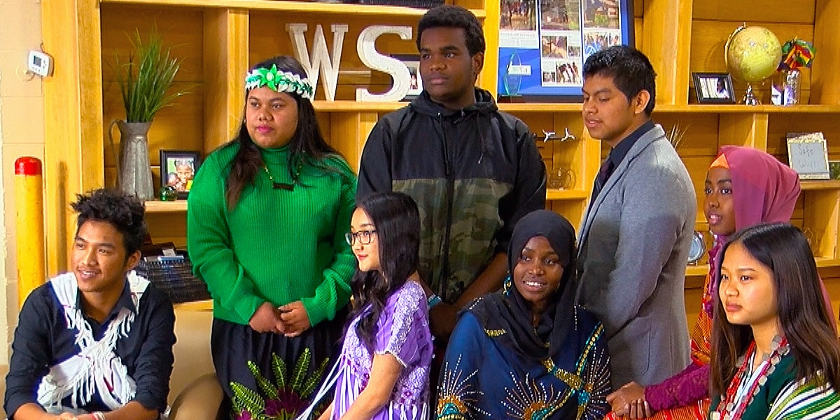 'They were fighting by the wells': Refugee students write book about getting clean water