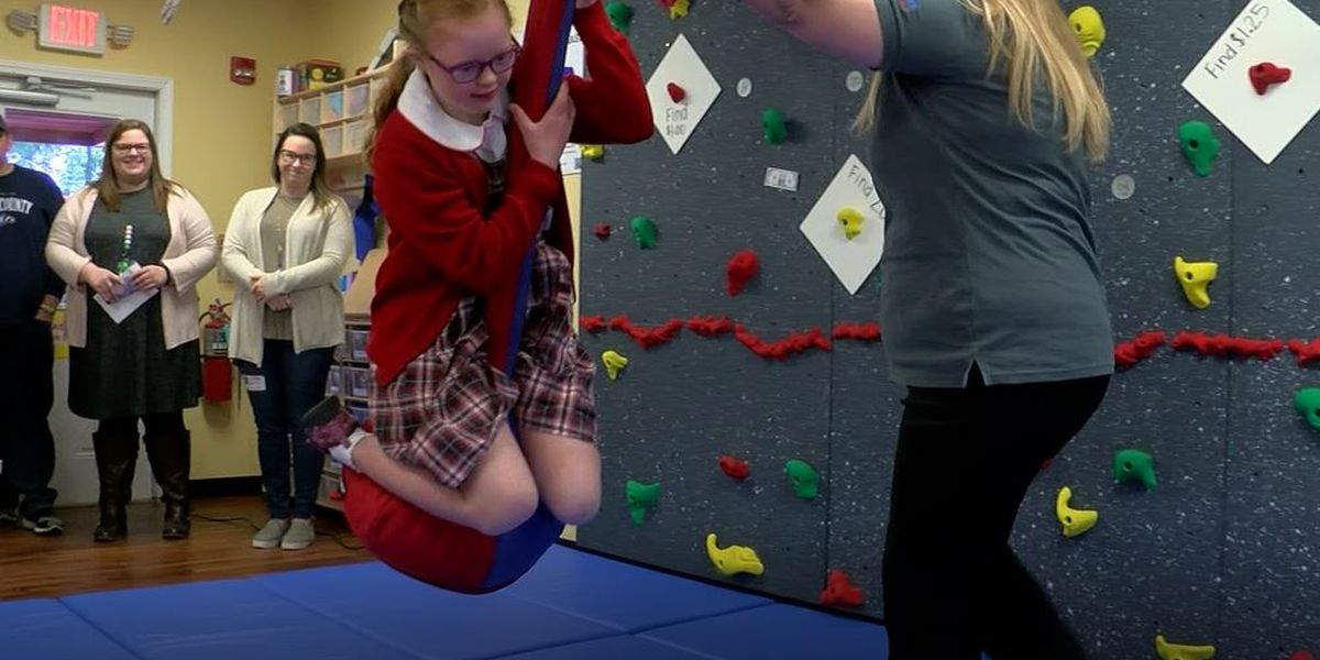 Christian Academy of Louisville goes high-tech with new gym for kids with Down syndrome
