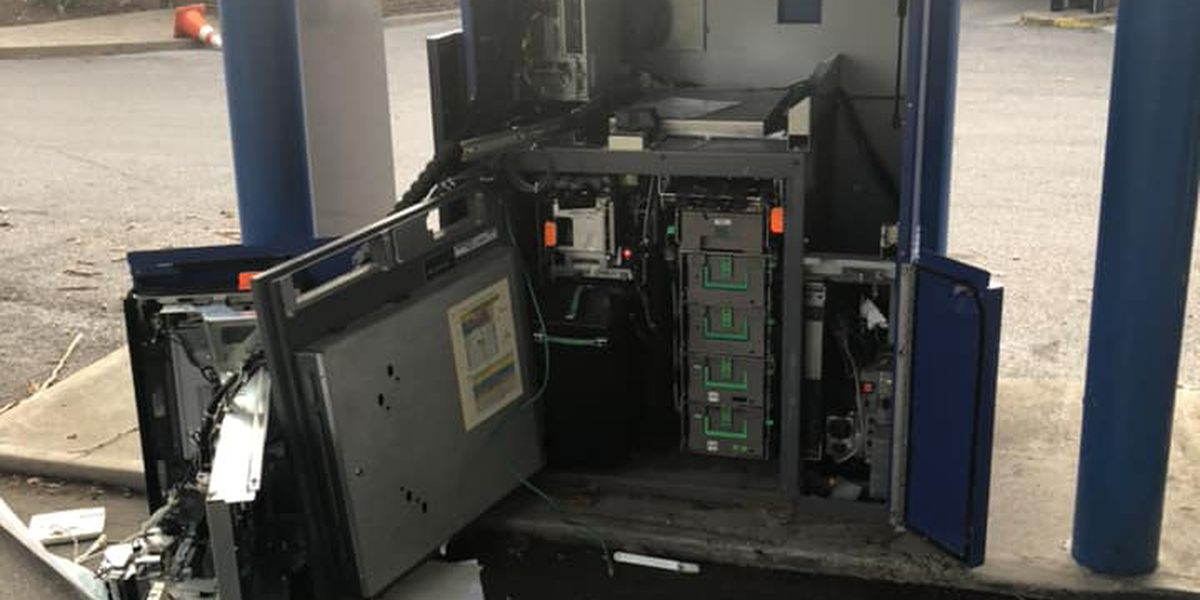 Police searching for 3 men who broke into empty ATM
