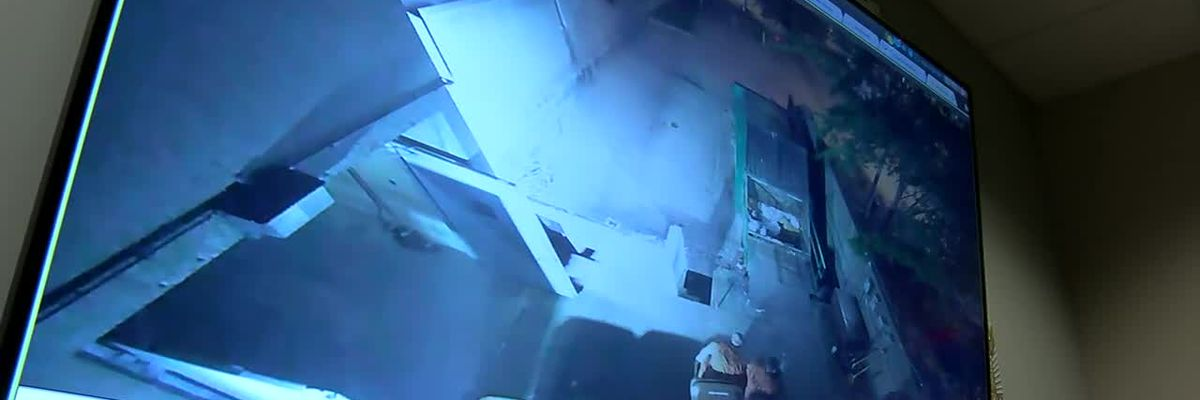 VIDEO: Watch LMDC escapees sneak out in garbage cans