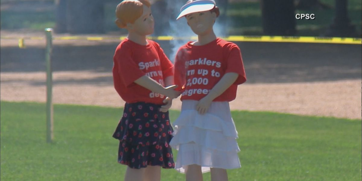 Local fire agencies explain firework safety, mainly sparklers
