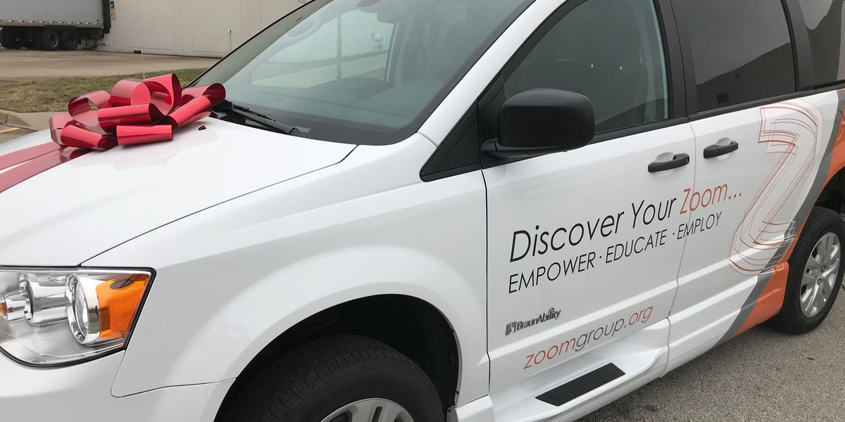 Donated van to help non-profit provide people with rides to work