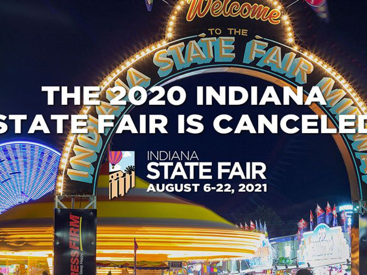 Indiana State Fair canceled