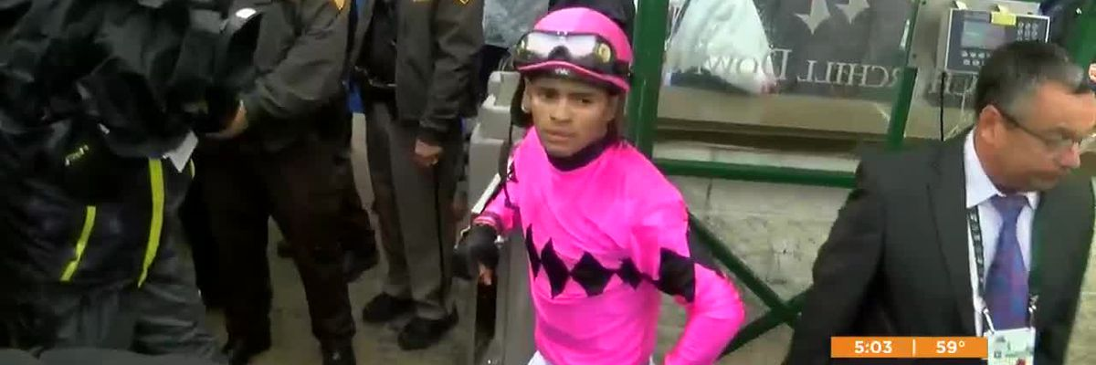 Maximum Security jockey suspended from horse racing for 15 days