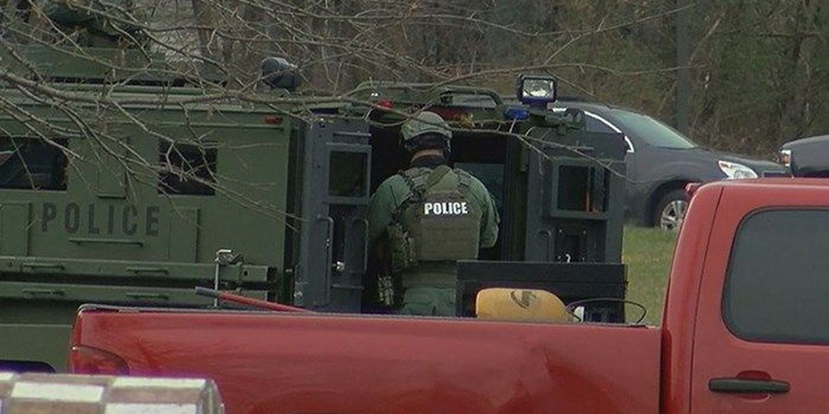 Jeffersonville man arrested after Sunday standoff with SWAT