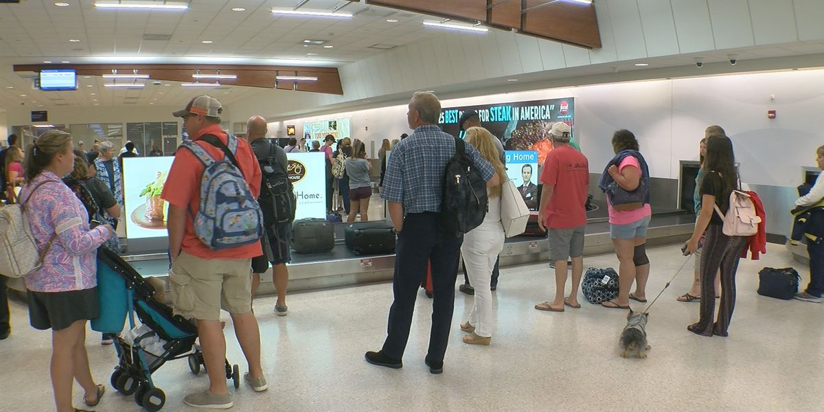 Passengers arrive in Louisville after plans disrupted by Dorian