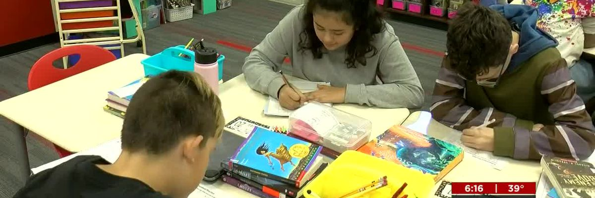 E-learning days keep GCCS kids learning, even in messy weather