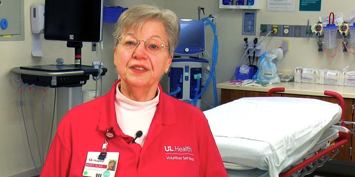 UofL Hospital volunteers return for first time in more than a year
