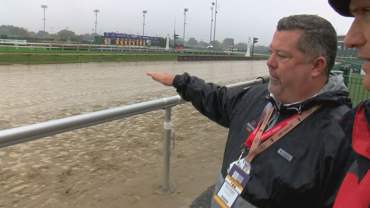 Churchill Downs Fast Drying Track Can Handle The Rain